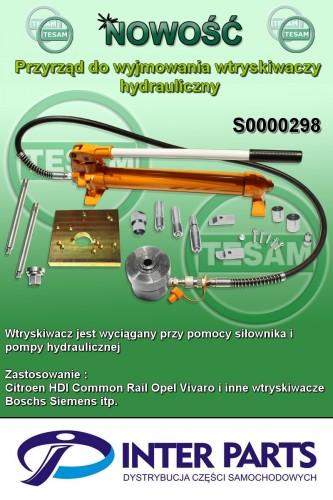 Przyrz±d do wyjmowania wtryskiwaczy - hydrauliczny (¦ci±gacz wtryskiwaczy)